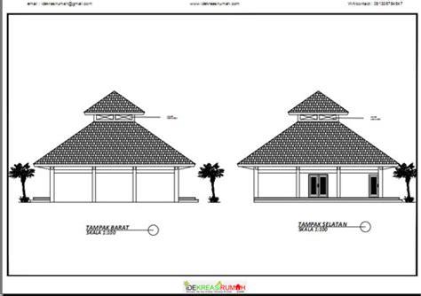 desain serambi mushola desain gambar kerja masjid ukuran 12 215 12 meter ide kreasi