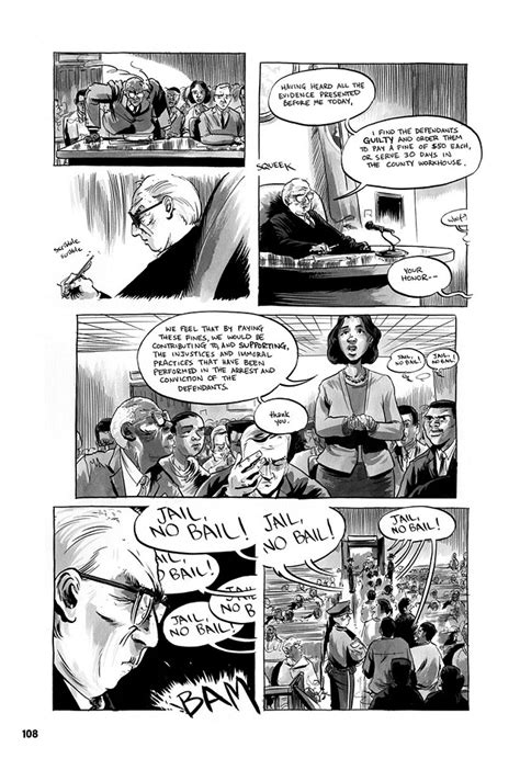 march book one excerpt march book one a graphic novel about civil