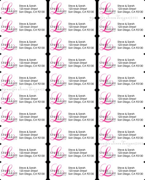 template address labels search results for address return labels template free