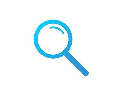 Search Check Svg Search Icon By Chris Gannon Dribbble