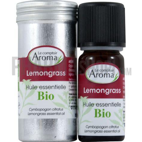 comptoir des flacons huile essentielle de lemongrass le comptoir aroma flacon