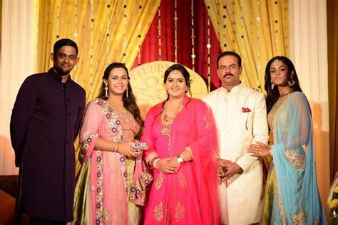 Actress Radha 25th Wedding Anniversary Celebrations