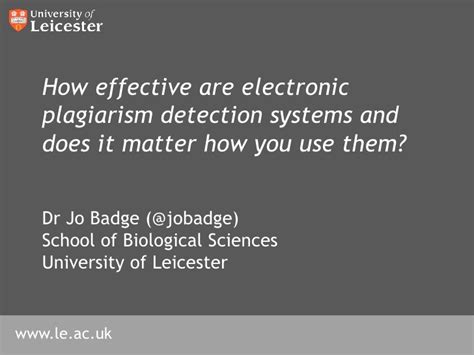 Does It Matter Which I Apply For Mba by How Effective Are Electronic Plagiarism Detection Systems