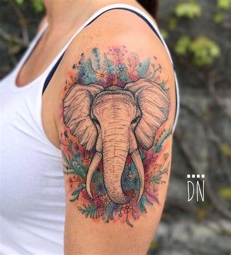 elephant tattoo on arm 35 elephant designs amazing ideas