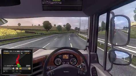 Auto Simulator Pc by Euro Truck Simulator 2 Uk To Italy Gameplay Gamespot