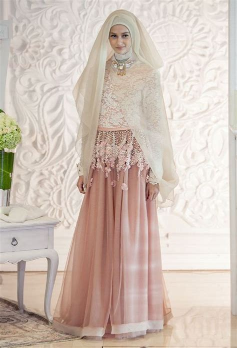 Gaun Dres Pengantin 20 model kebaya gaun pengantin muslim modern terbaru 2017