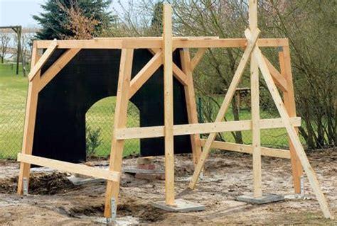 Spielhaus Garten Selber Bauen 3737 by Spielhaus Mit Kletterwand Selber Bauen Spielideen Garten
