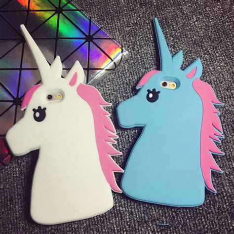 For Iphone 7 3d Japan Hello Cat Silicone So Murah dibujos animados en 3d a la moda unicornio suave de