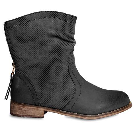 Boots Rv 13 caspar damen vintage stiefeletten boots cowboy stiefel