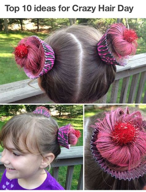 Top Ten Ideas For Crazy Hair Day!   Musely