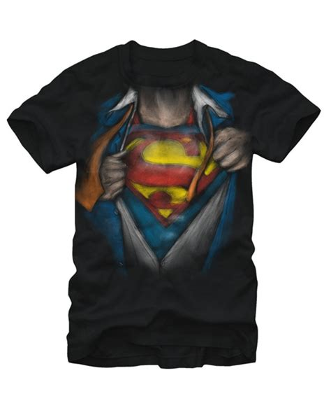 tshirt clark kent of superman clark kent superman reveal t shirt costume