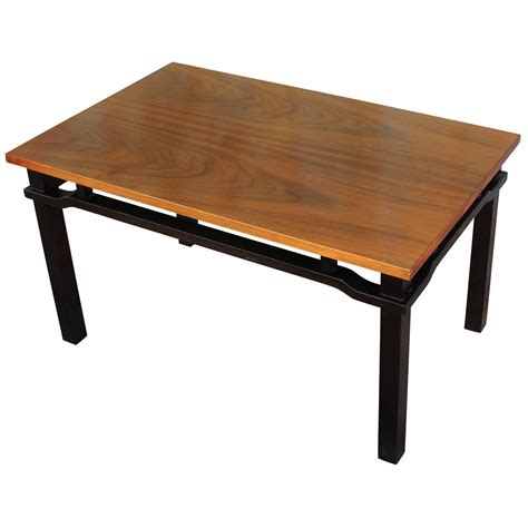 Two Tone Coffee Table Two Tone Walnut Coffee Table For Sale At 1stdibs