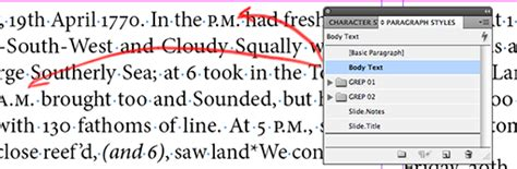 tutorial grep indesign adobe indesign grep styles 3 setting small caps as