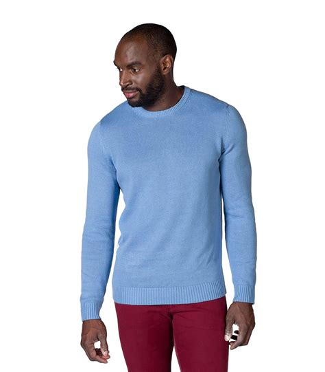 Accessories Aki Jumper 100 A woolovers mens 100 cotton crew neck jumper sweater knitted