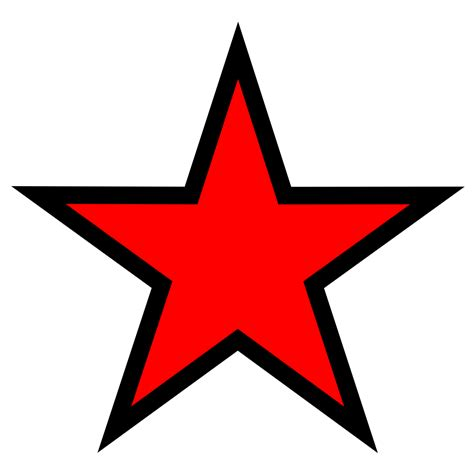 imagenes png estrellas file estrella roja svg wikimedia commons