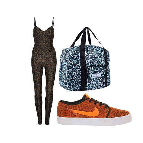 10 Ways To Wear Animal Graphics by 10 New Ways To Wear Leopard Print Workout Clothes