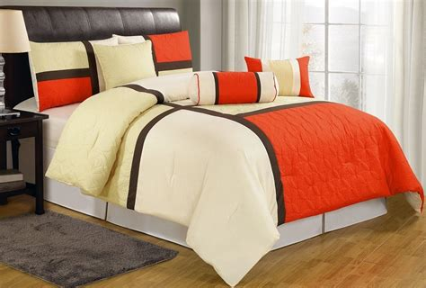 Orange Comforter King by Beige Bedding Sets And Comforters Ease Bedding With Style