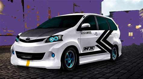 Lu Stop Mobil Avanza Modifikasi Mobil Toyota Avanza Terkeren Berita Otomotif