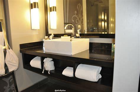 w hotel bathroom w atlanta midtown hotel review a thrifty diva