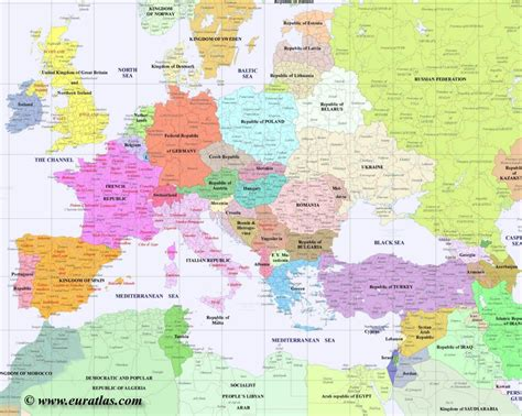 map of whole europe map of europe in year 2000