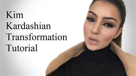youtube tutorial kim kardashian kim kardashian makeup transformation tutorial youtube