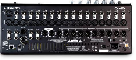 Mixer Allen Heath 16 Ch allen heath qu 16c 16 channel rackmountable digital