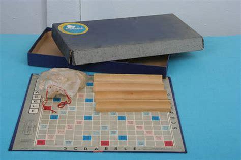 za a scrabble word word vintage scrabble word board 1953 was