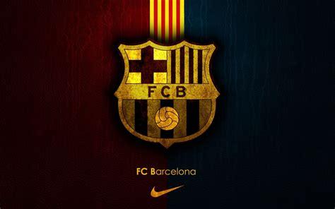 barcelona emblem wallpaper fc barcelona logo wallpapers wallpaper cave