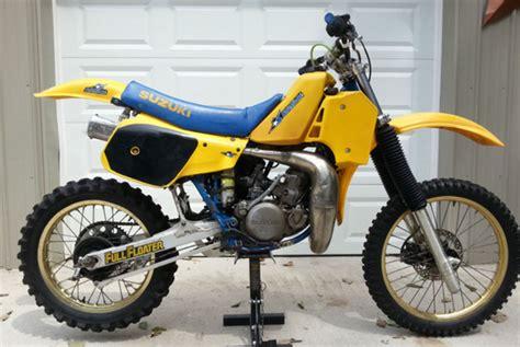 1985 Suzuki Rm250 1985 Suzuki Rm250 Nj Floater Suzuki Rm Vintage