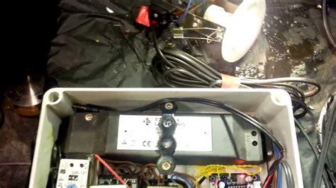 diy prop 2013 electric shock strobe light door