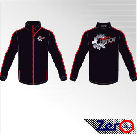 design jacket softball gymnastics dance jacket design 9 zero sports
