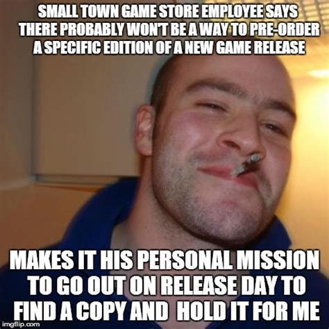 New Meme Order - good guy game store employee imgflip