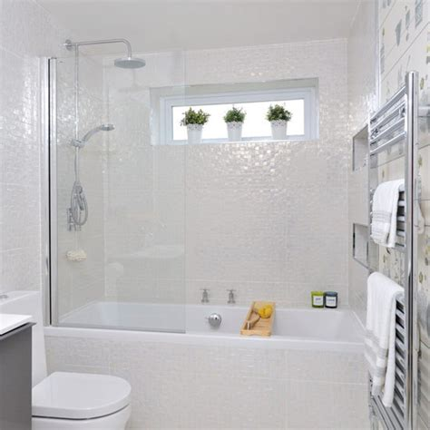 mosaic bathroom ideas cream bathroom with glimmering mosaic tiles small