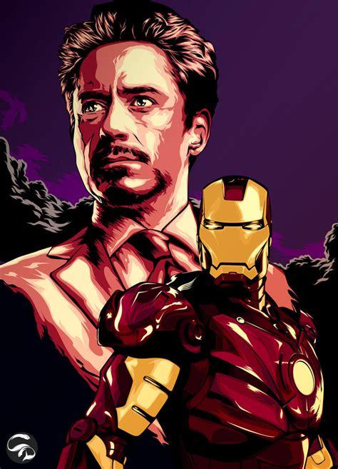 Iron Is Tony Stark marvel all that i
