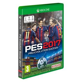 Xbox One Original Pes 2017 pes 2017 xbox one voor xbox 3 fnac be