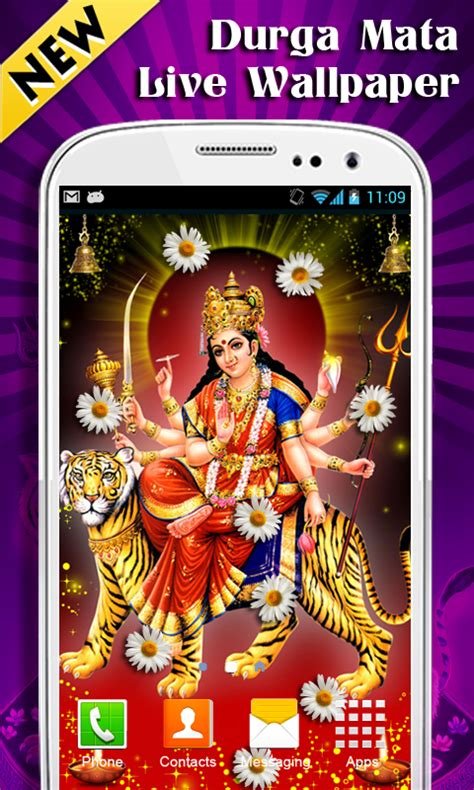 chat mata wallpaper durga mata live wallpaper new free android app android