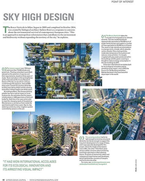 garden design journal garden design journal the making of bosco verticale