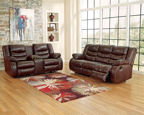 espresso reclining sofa linebacker durablend espresso reclining sofa from