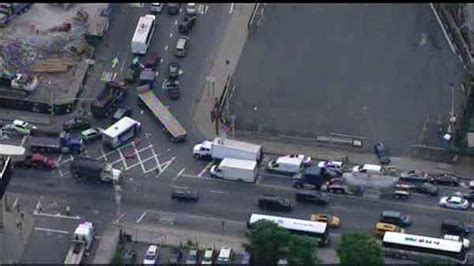 lincoln tunnel traffic report live new jersey bound lincoln tunnel reopened after car in