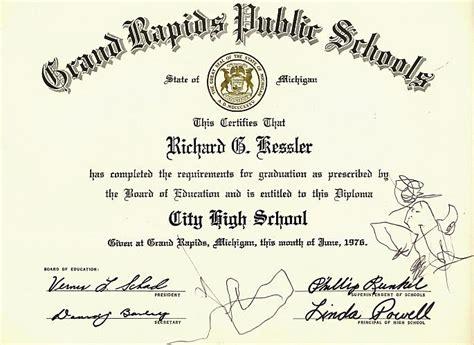 High school diploma in michigan