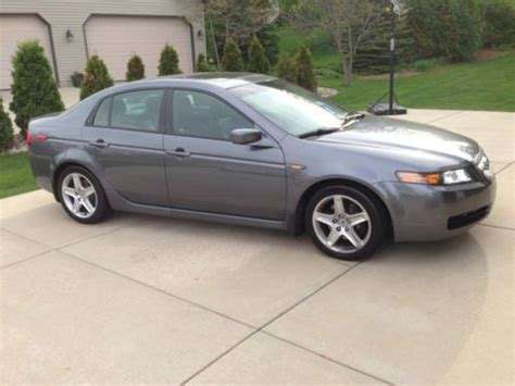 2006 acura tl handsfreelink sell used 2006 acura tl sedan 4 door 3 2l 6 speed manual
