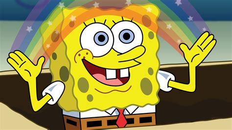 Spongebob Rainbow Meme - spongebob rainbow blank template imgflip