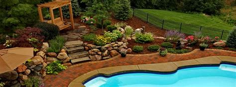 Outdoor Patio Landscaping Pool Finders And Outdoors Custom Pools Outdoor