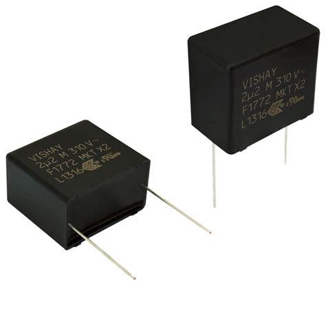 capacitor corona effect vishay passive jewels