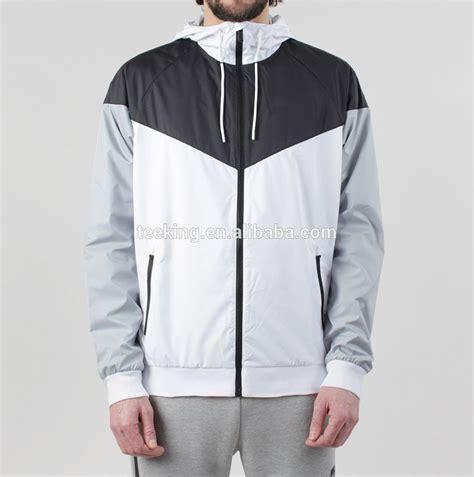 design custom jacket custom color block windbreaker jacket design buy custom