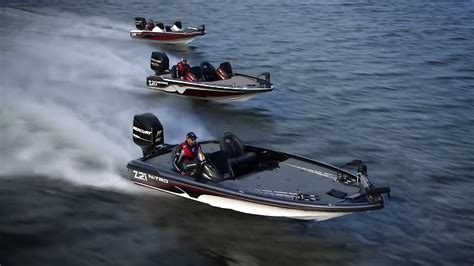 performance bass boats nitro boats 2016 z series performance bass boats youtube