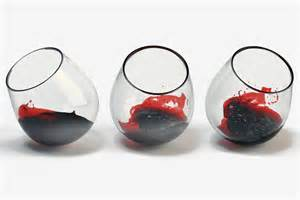 Wine Spill On by Spill Proof Spinning Wine Glasses Cool