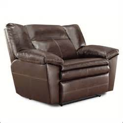 oversized leather recliner for two furniture home design ideas