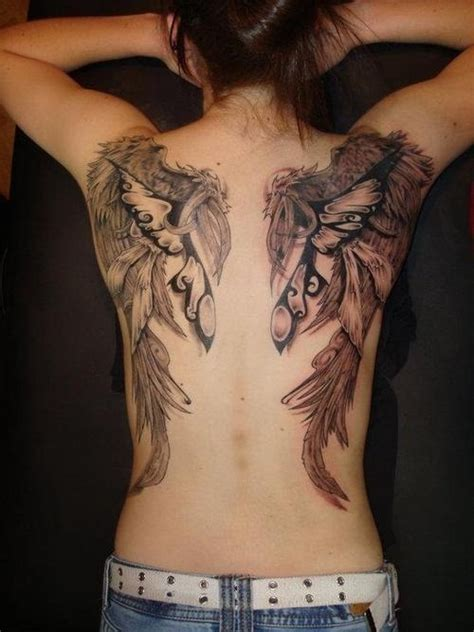 wing tattoos images amazing angel wings tattoo on girl s back tattooshunt com