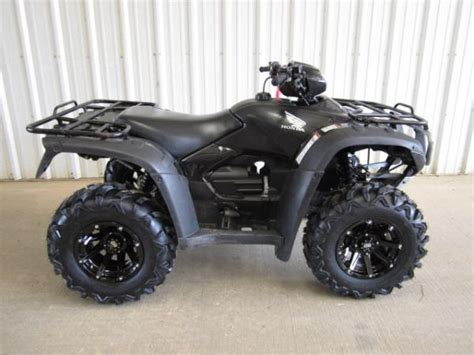 honda rubacon 500 black 2009 honda foreman 500 atv four wheeler for sale in